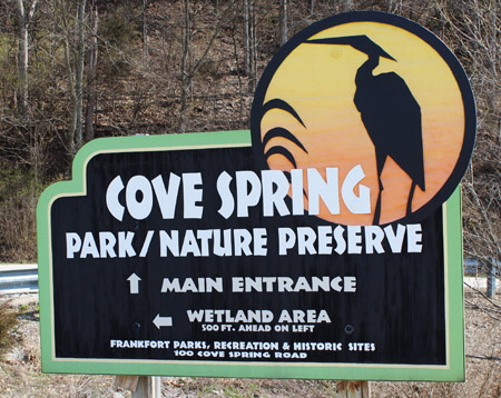 Park Signs Cove Spring